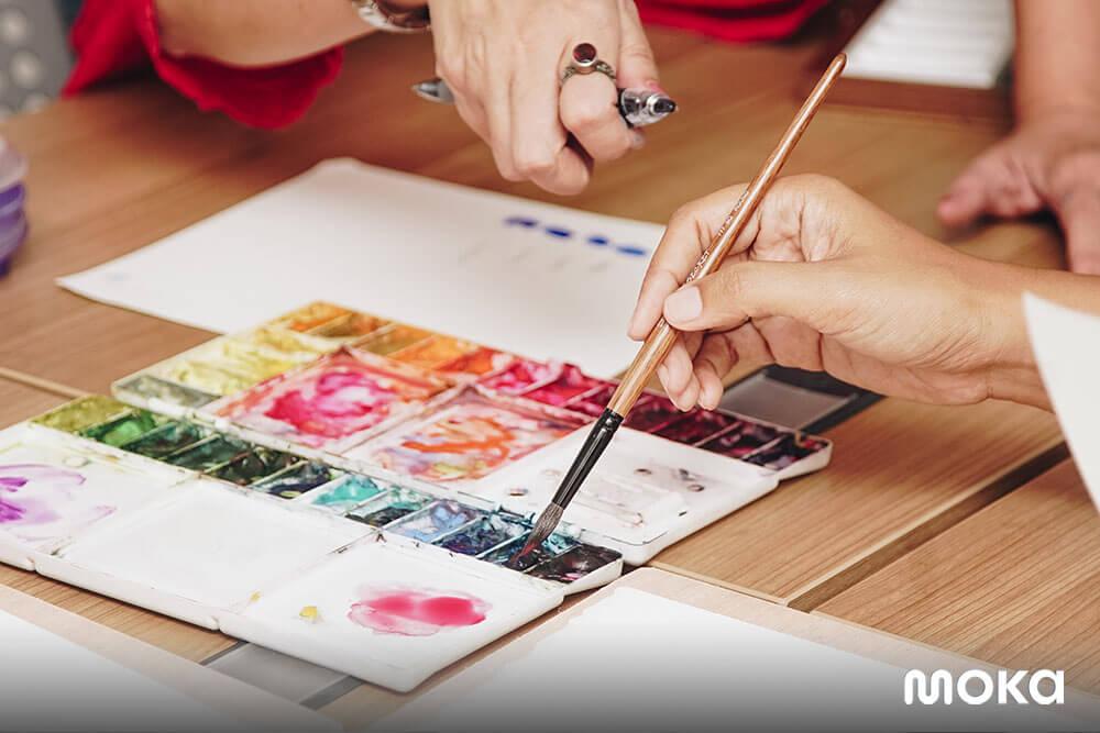 C for Calligraphy, Bisnis Kaligrafi untuk Lawan Stres Jakarta (3)