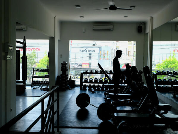 the bar bali gym dan fitness