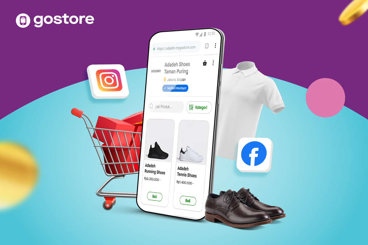 GoStore, Toko Online Pribadi dari Gojek yang Bantu Pemilik Usaha Tingkatkan Penjualan (1)