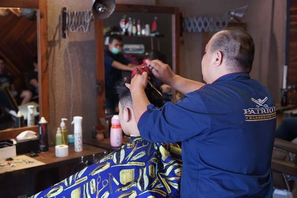 patriot barbershop