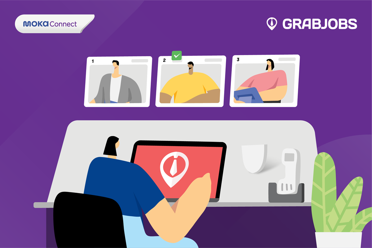 Merchant Moka Lebih Mudah Jalani Proses Rekrutmen dengan GrabJobs