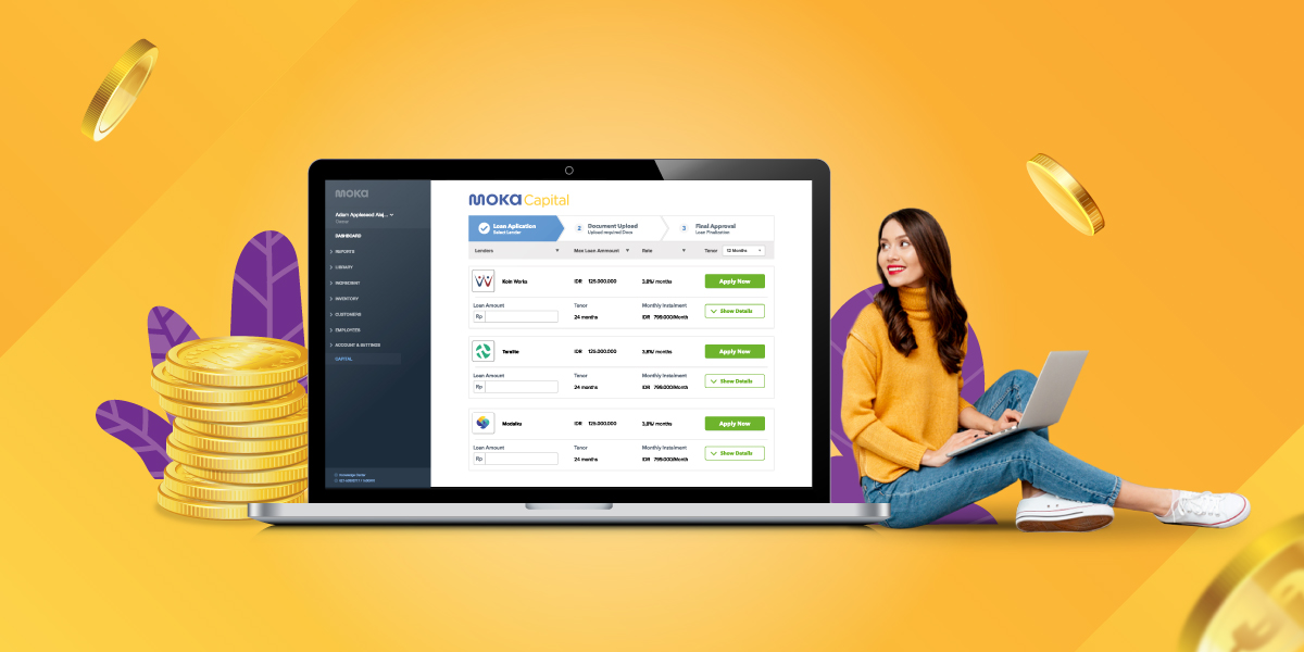 Moka Capital Banner - Moka Capital, Solusi Mudah Pinjaman Online