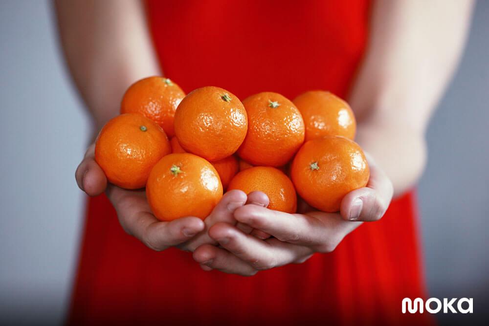 Tahun Baru Imlek - jeruk mandarin
