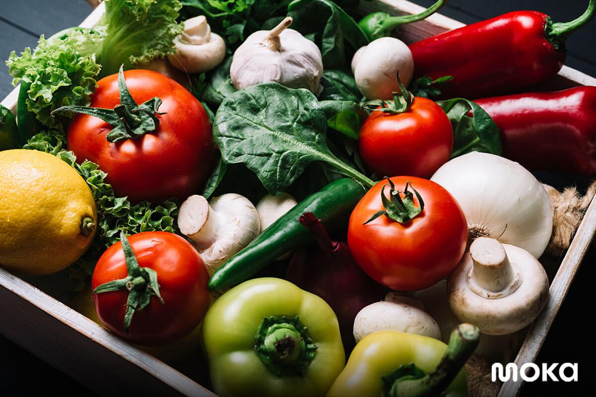 bahan baku segar - sayur-sayuran (2) - 7 Tips Mengelola Bahan Baku Selama Ramadan
