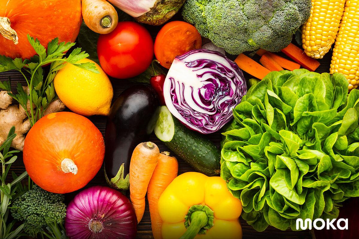 bahan baku segar - sayur-sayuran - Bagaimana Cara Stock Opname yang Benar dan Efisien?