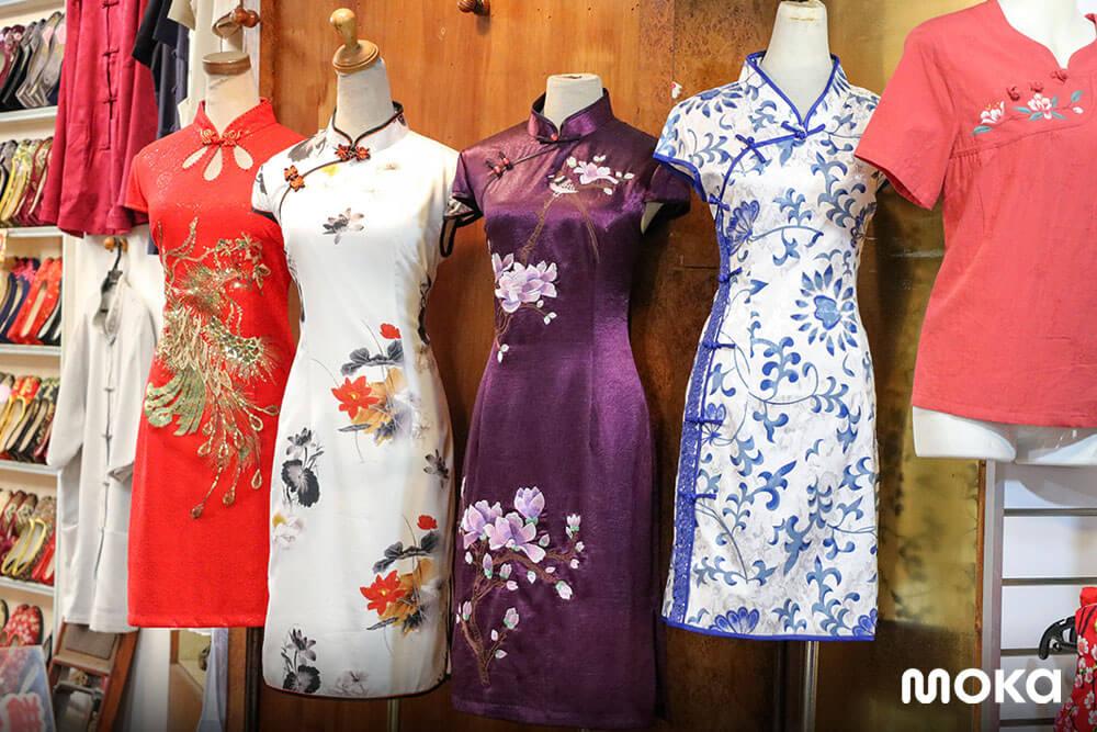 baju cheongsam untuk tahun baru imlek