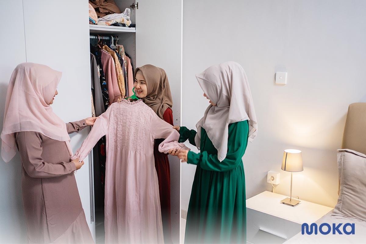 baju gamis - produk fashion ramadan
