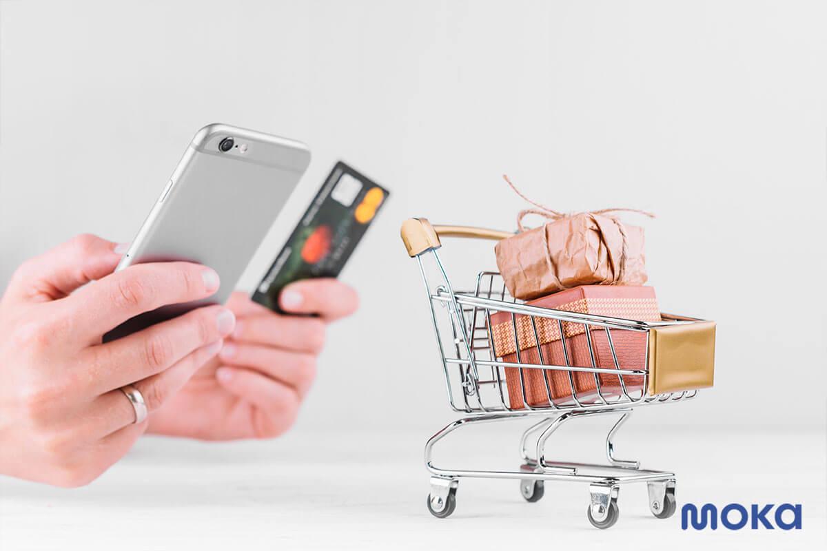 belanja online dengan kartu kredit atau mobile payment - 8 Tips Membuat Caption atau Deskripsi Produk di Media Sosial