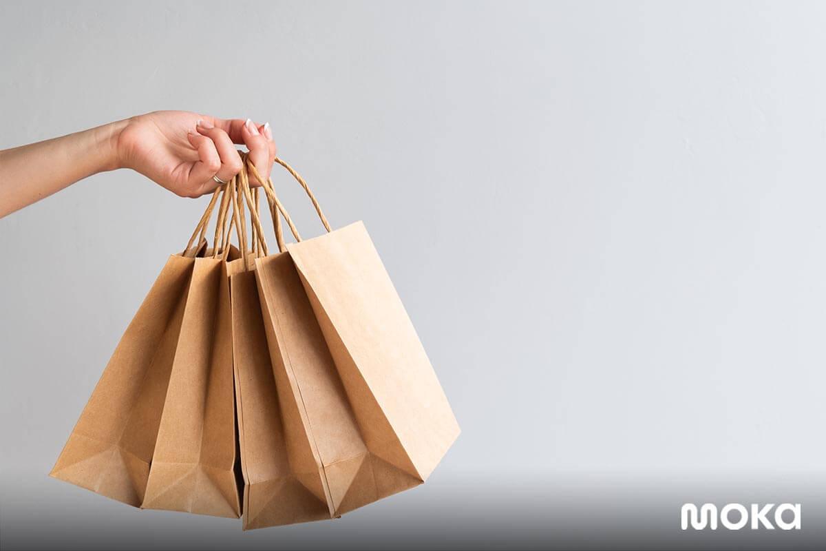 beli online - paperbag - Strategi Promosi Penjualan Toko Online untuk Pebisnis Pemula - strategi promosi