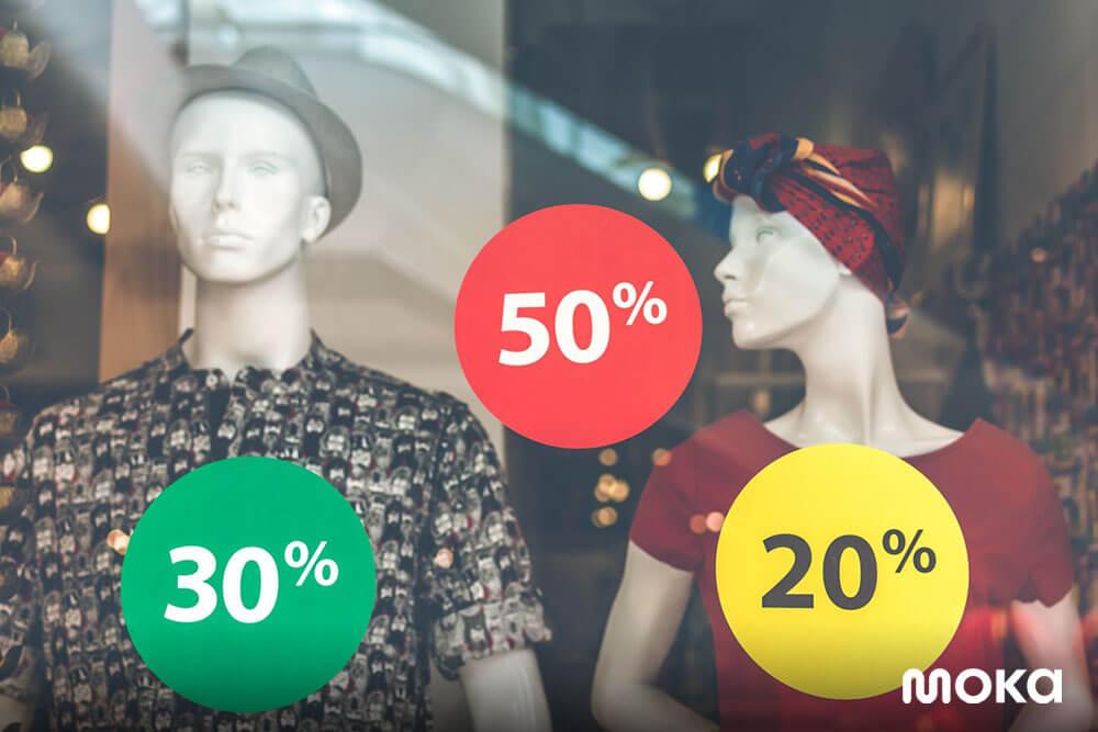 berikan penawaran diskon atau potongan harga - meningkatkan penjualan bisnis fashion
