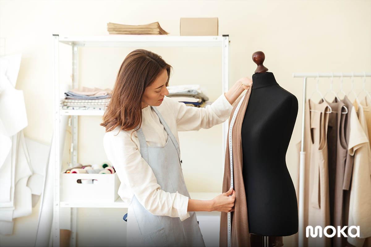 bisnis fashion - menjahit baju