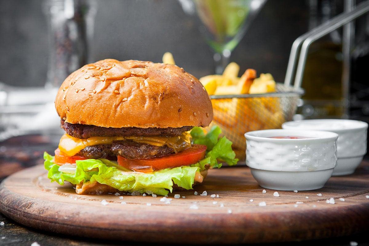 Bisnis Franchise di bawah 5 juta - burger