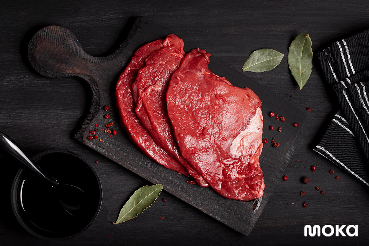 daging - makanan mentah