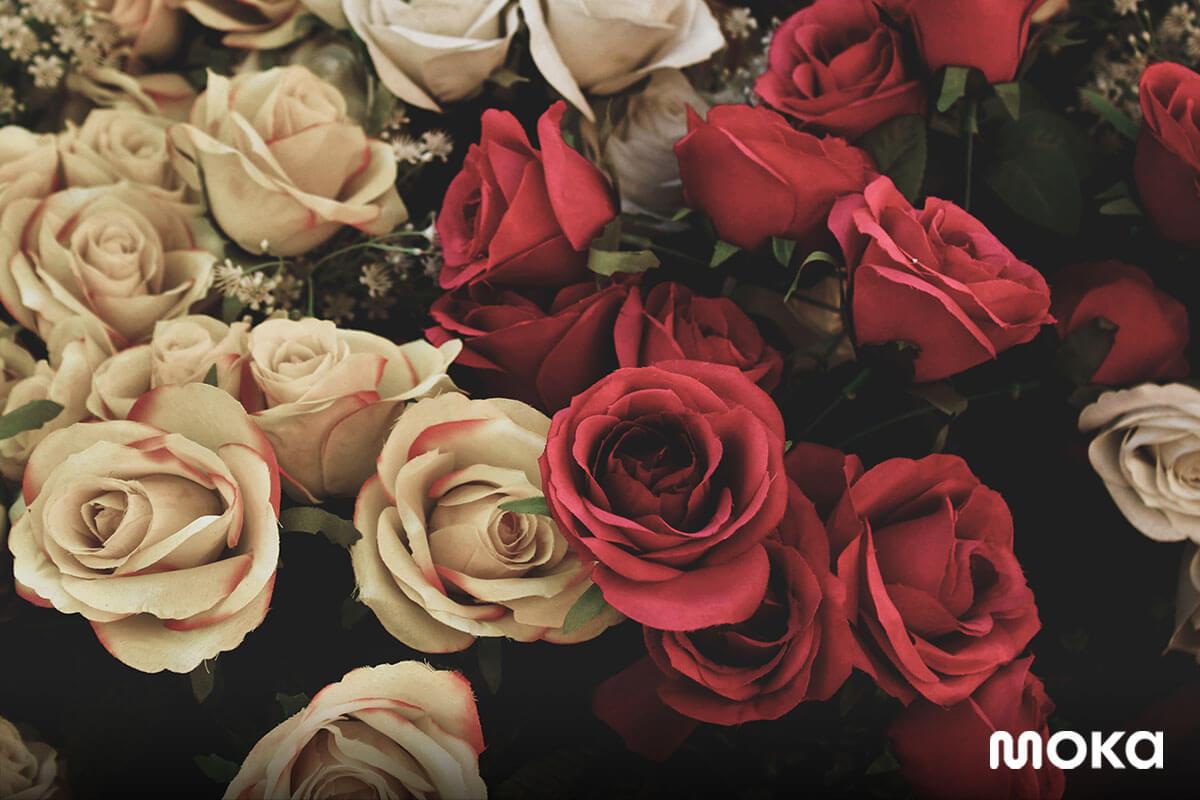 hari kasih sayang - valentines day - bunga mawar - 13 Peluang Bisnis Sampingan di Hari Valentine