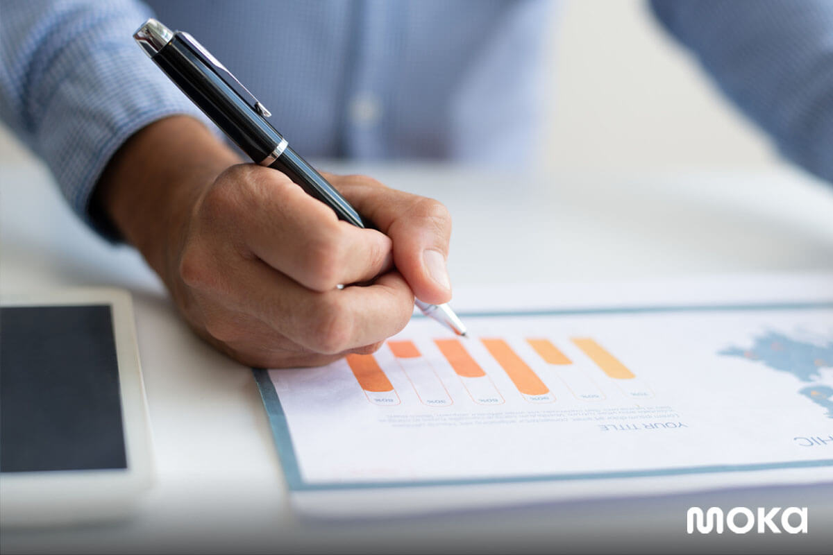 infografis - laporan bisnis