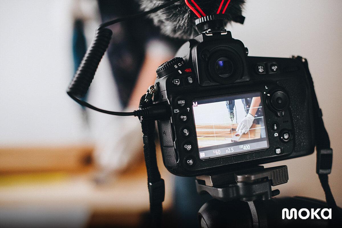 kamera - foto - videografi - aplikasi edit video terbaik - promosi bisnis