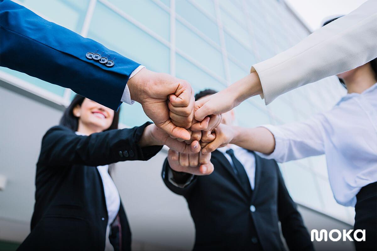kerja sama tim - karyawan