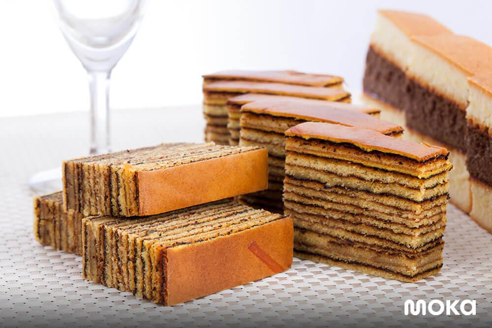 kue lapis legit banyak disajikan saat tahun baru imlek