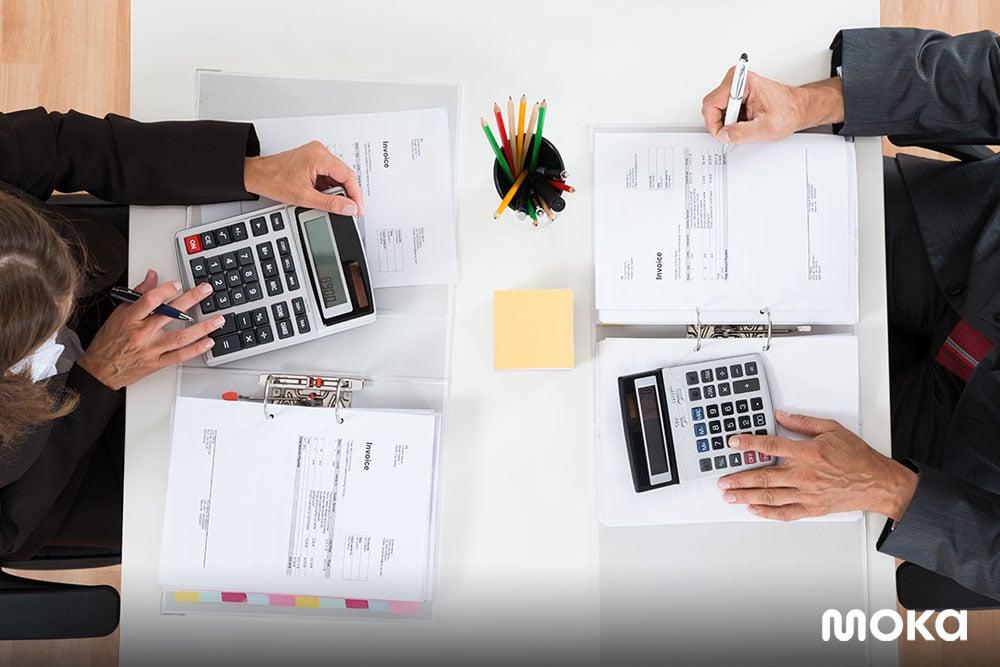laporan akuntansi  dalam suatu bisnis-budget plan
