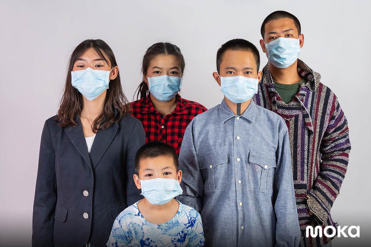 menggunakan masker - virus corona - perilaku konsumen setelah vaksin COVID-19