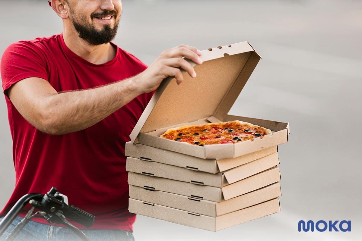 online delivery - jasa antar makanan - pizza - Agar Bisnis Tetap Bertahan Saat Wabah Corona