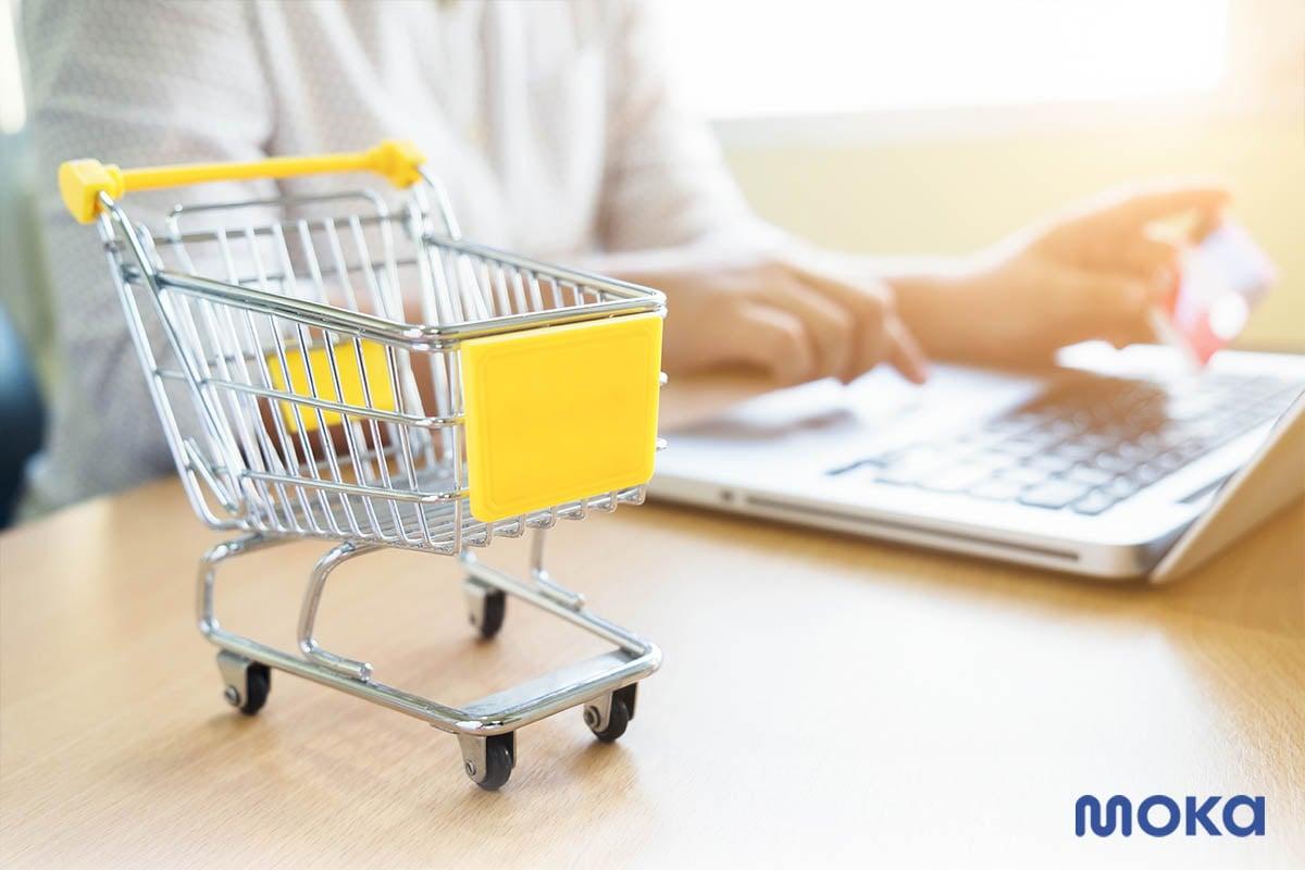 online shopping - belanja online - 5 Tren Bisnis Pasca COVID-19