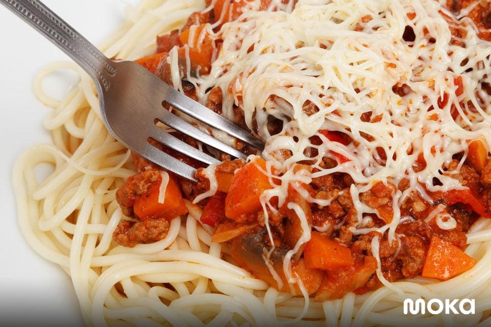 pasta - makanan dengan keju (2)