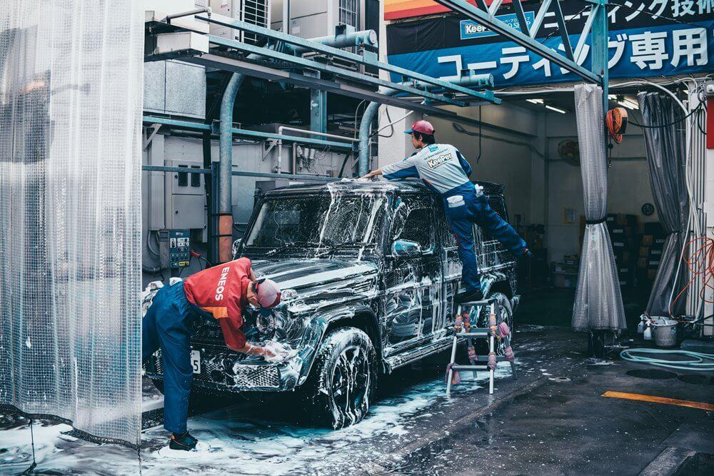 pencucian motor atau mobil - bisnis rumahan modal kecil