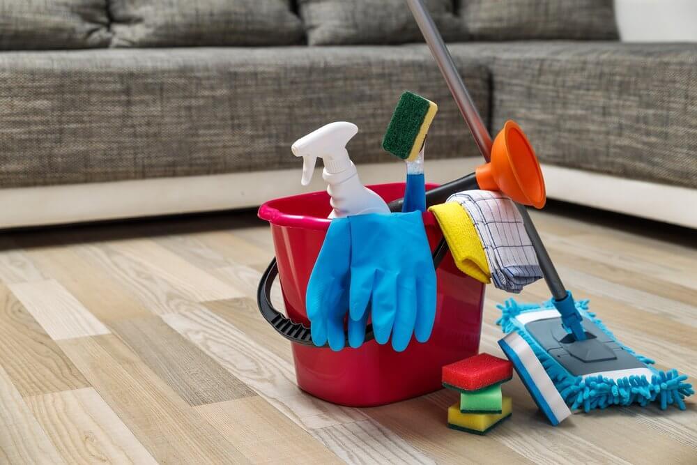 peralatan rumah tangga - pel - sapu - kerbersihan