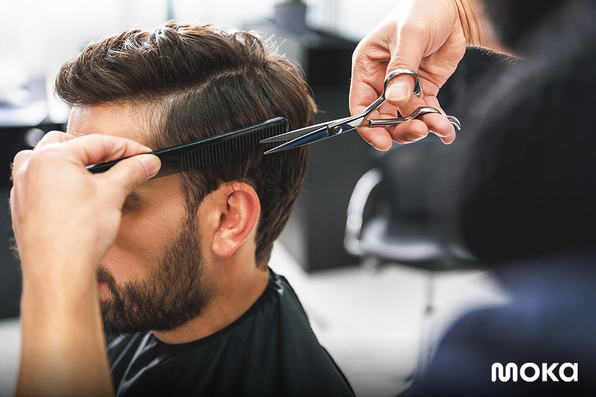 potong rambut - salon - peralatan barbershop