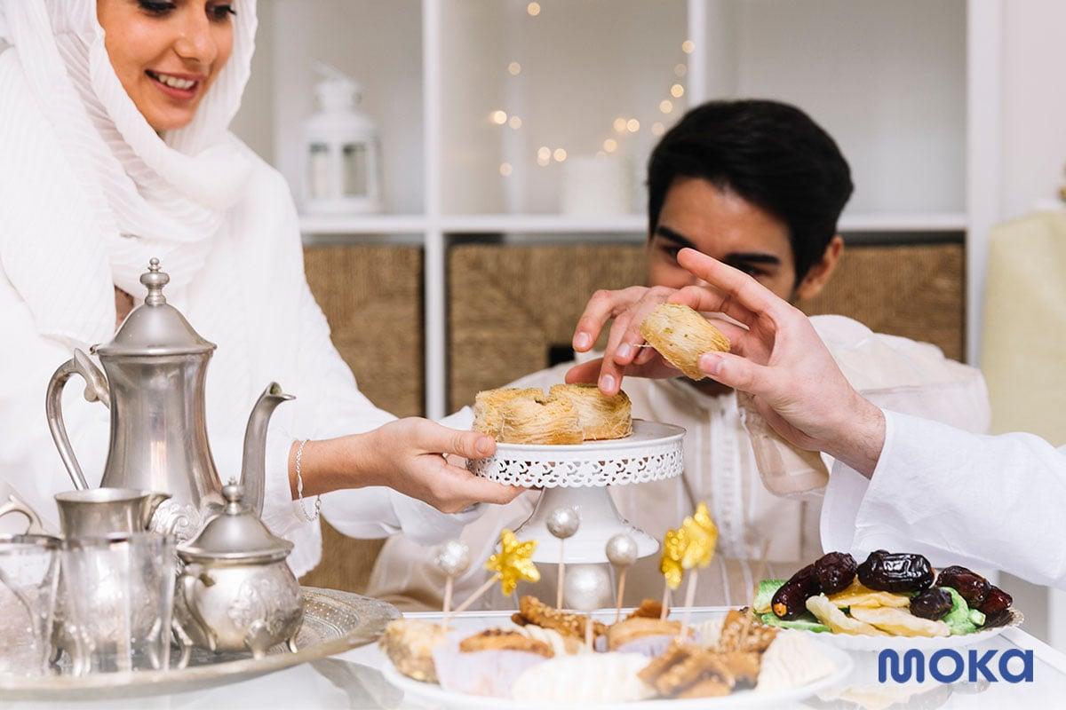 ramadan 4 - makan bersama saat lebaran