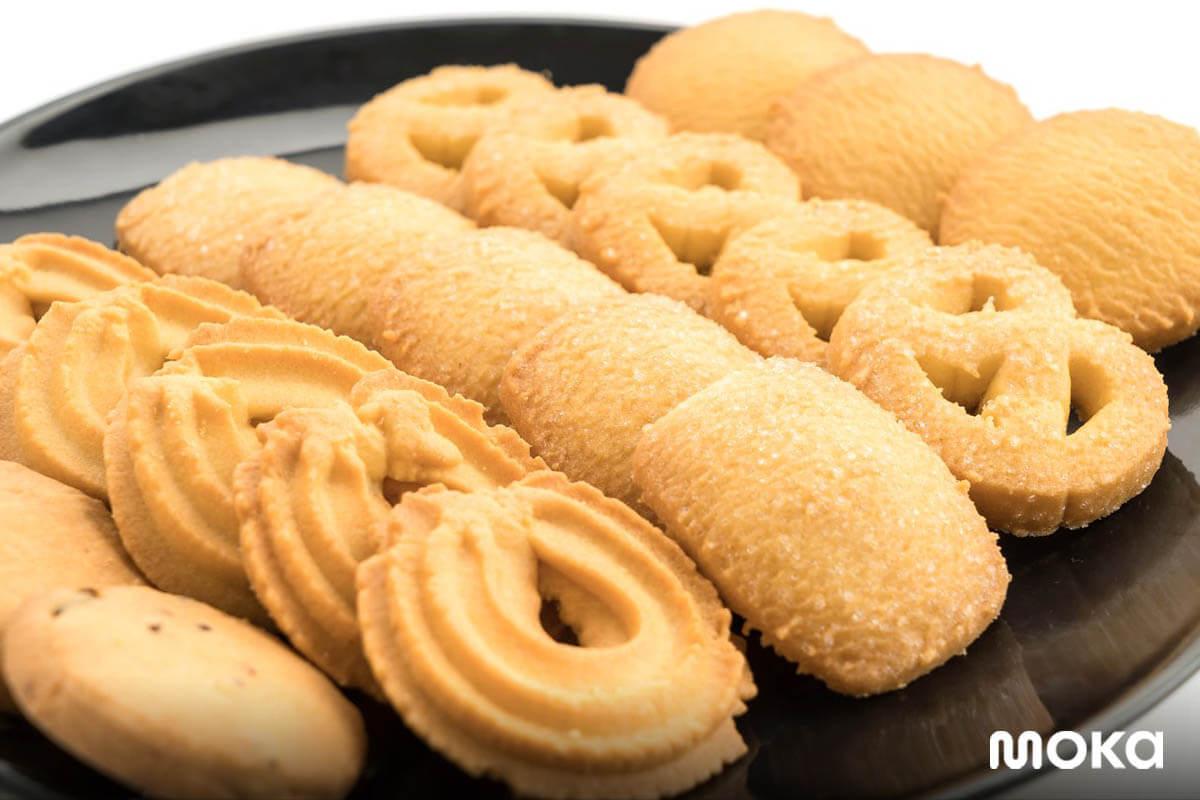 resep kue kering lebaran - butter cookies