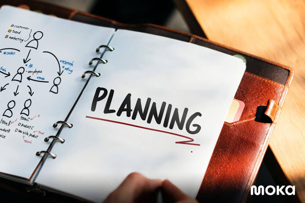 riset dan membuat perencanaan yang matang untuk bisnis