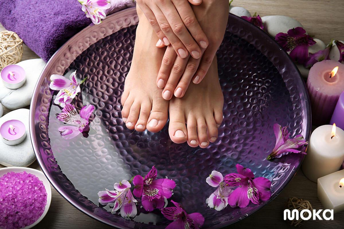 spa - perawatan di salon