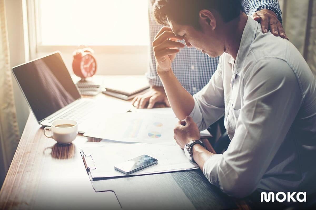 stres dengan tuntutan pekerjaan - pengajuan pinjaman modal usaha ditolak
